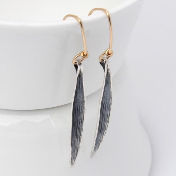 Grass Blade Earrings