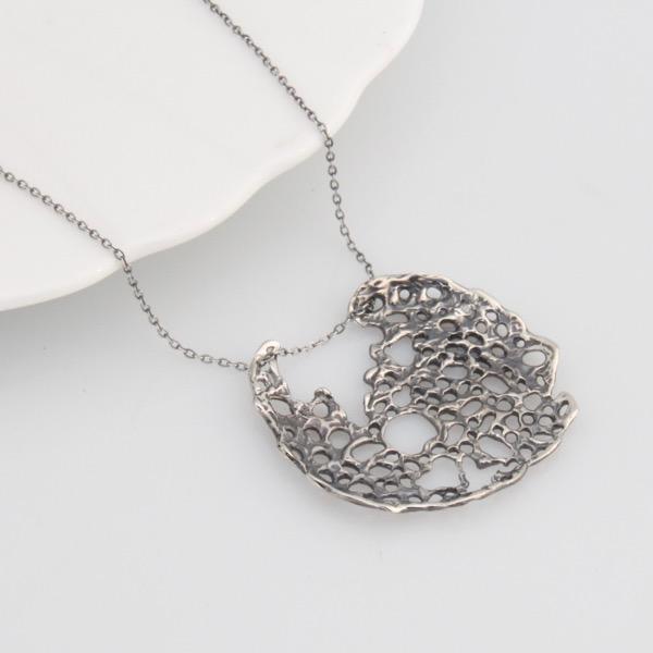 Sea Lace Pendant