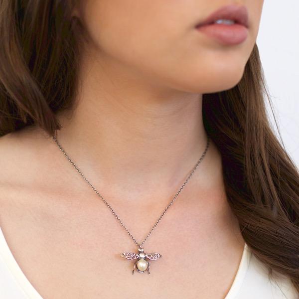 Honey Bee Necklace
