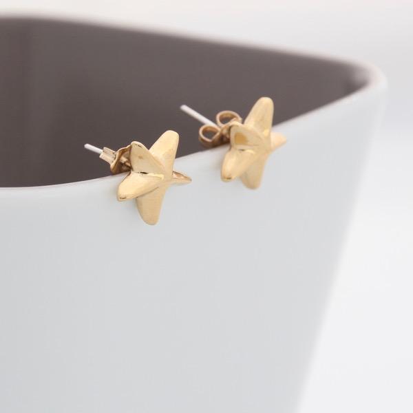 Starfish Studs - Gold
