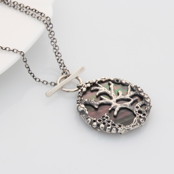 Coral Shell Medallion