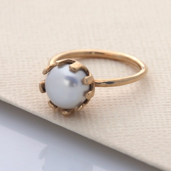Crown Ring - 9ct Yellow Gold