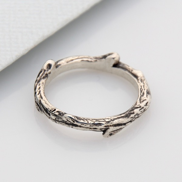 Branch Textured Ring