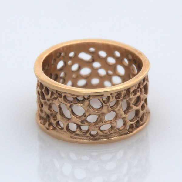 Lace Ring - 9ct Yellow Gold