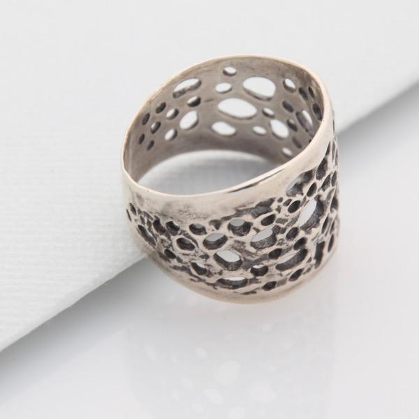 Organic Lace Ring