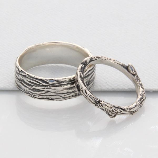 Unisex Bark Ring