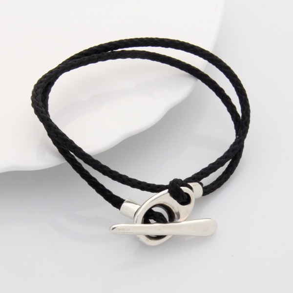 Toggle Wrap Bracelet - Black