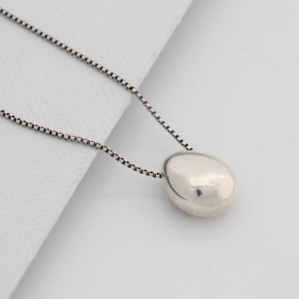 Pebble Diffuser Necklace - Medium